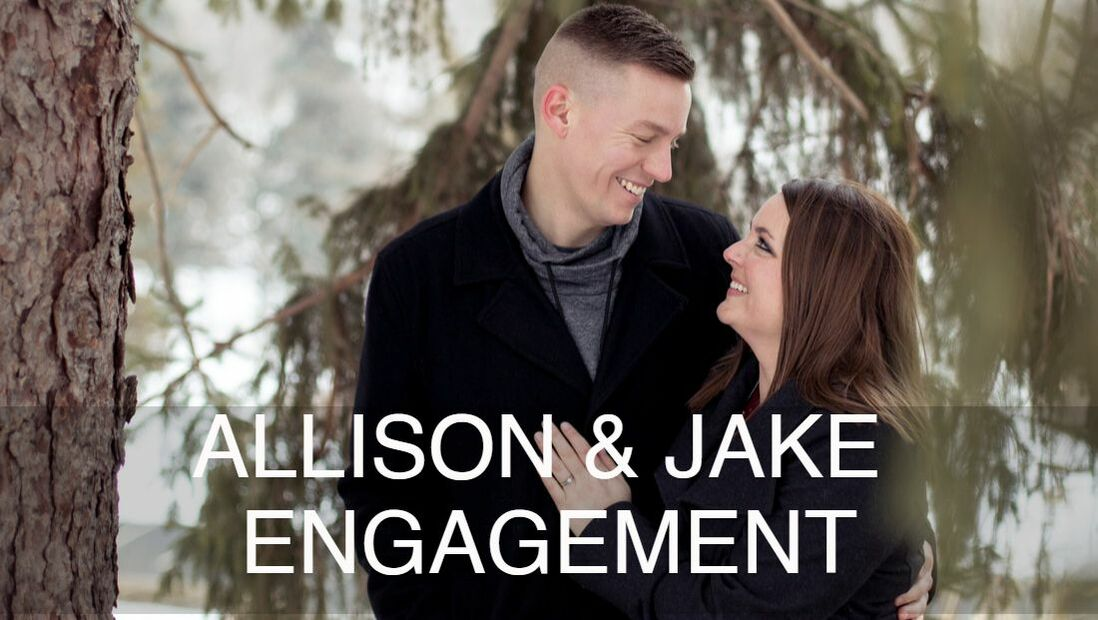Winter Engagement Pictures Mankato